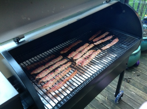 Traeger Bacon